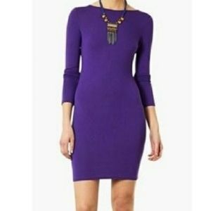Topshop bodycon long sleeve dress